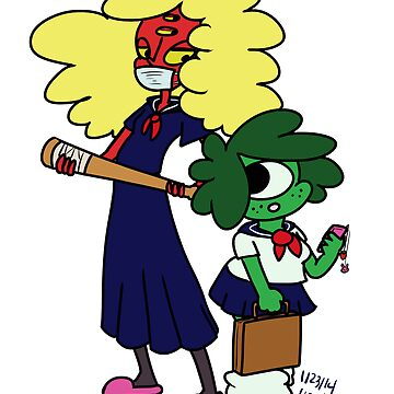 School Girls by IndigoLiz