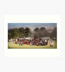 Traction Engines Art Print