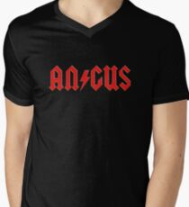 Angus Rock & Roll Men's V-Neck T-Shirt