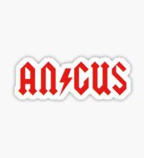 Angus Rock & Roll Sticker