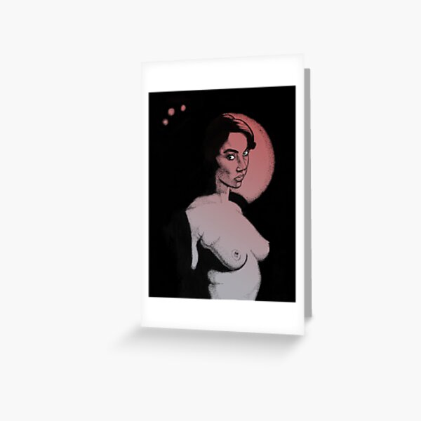 All Moons Greeting Card