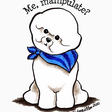 Bichon Me Manipulate? by offleashart