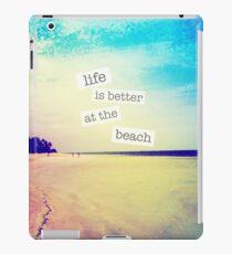 Beach iPad-Hülle & Klebefolie