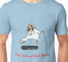 Skateboarder Jesus Knows The Pain Unisex T-Shirt