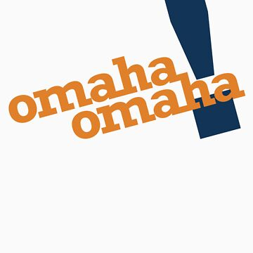 Omaha Omaha (Payton Manning Broncos Tee) by typeo