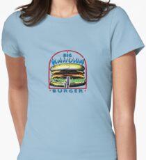 big kahuna burger pulp Womens Fitted T-Shirt