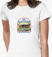 big kahuna burger pulp Womens Fitted T-Shirt