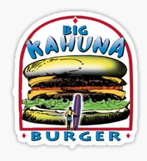 big kahuna burger pulp Sticker