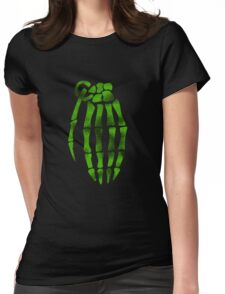 jesse pinkman skeleton hand  Womens Fitted T-Shirt