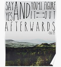 Say Yes Poster