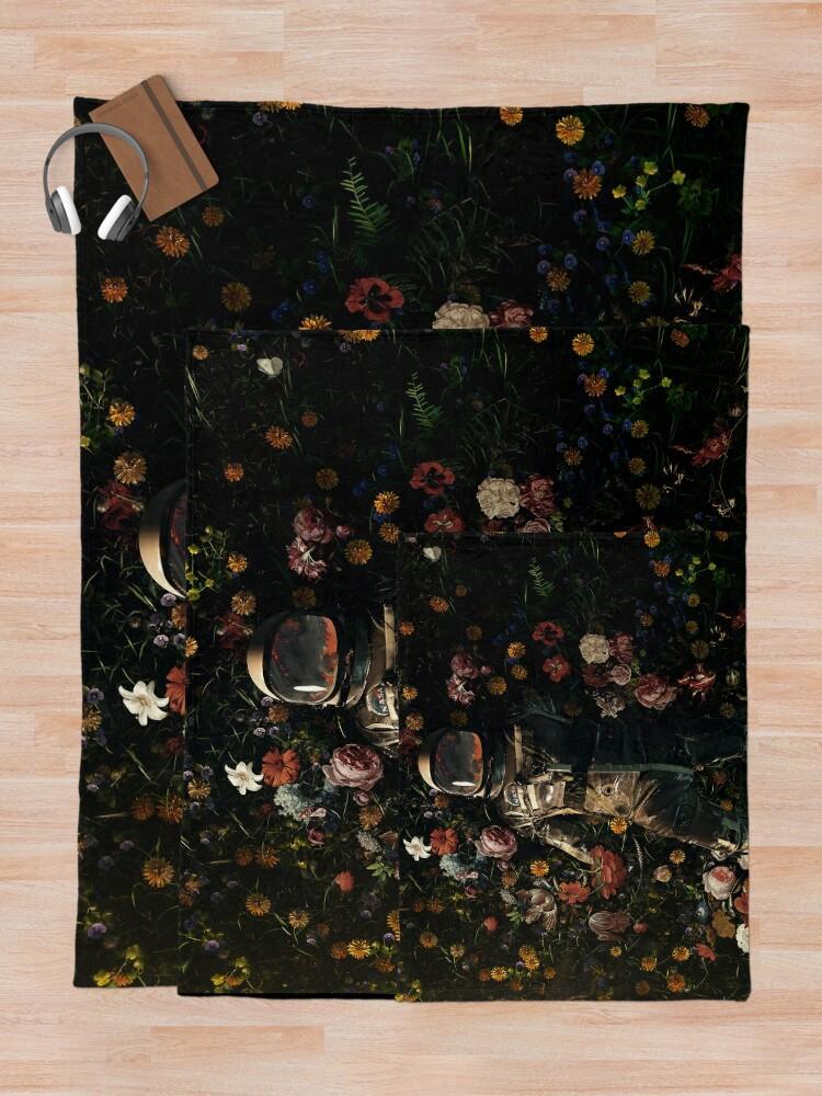 Alternate view of Garden Delights Throw Blanket