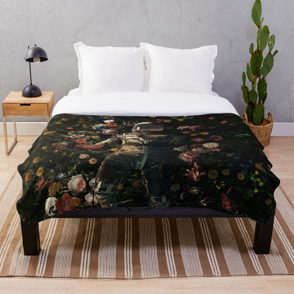 Garden Delights Throw Blanket