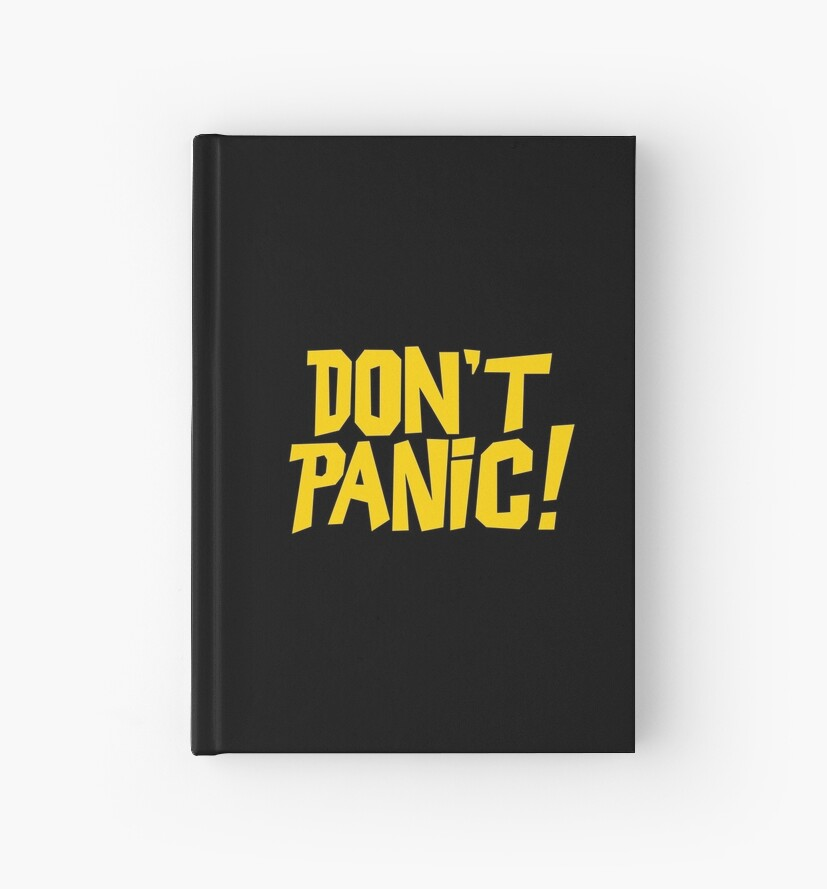 Hitchhikers Guide to the Galaxy Hardcover Journals
