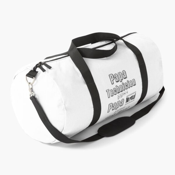 Technician Dad Like a Normal Dad Downright Cooler Gift Humor Duffle Bag