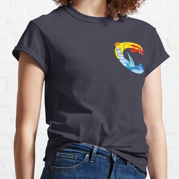 The Letter C Illustrated Classic T-Shirt