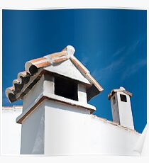Spanish Rooftops Poster