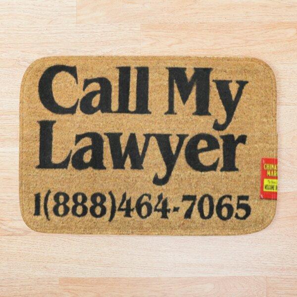 Chinatown Market Call My Lawyer Bath Mat