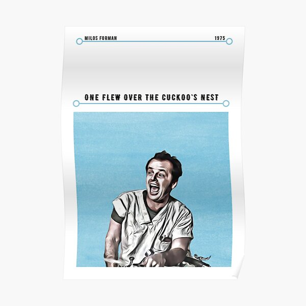 One Flew Over The Cuckoo's Nest Movie Poster Poster
