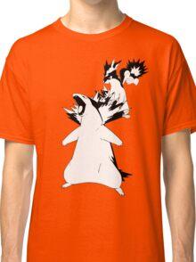 Cyndaquil Evolution Line Classic T-Shirt