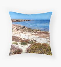 Great Australian Bight Throw Pillow