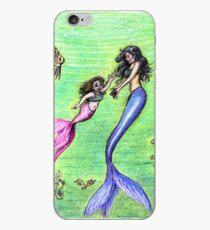 Mermommy iPhone Case