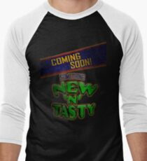 New 'N' Tasty! Men's Baseball ¾ T-Shirt