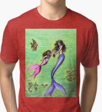 Mermommy Tri-blend T-Shirt
