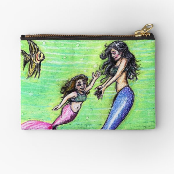 Mermommy Zipper Pouch