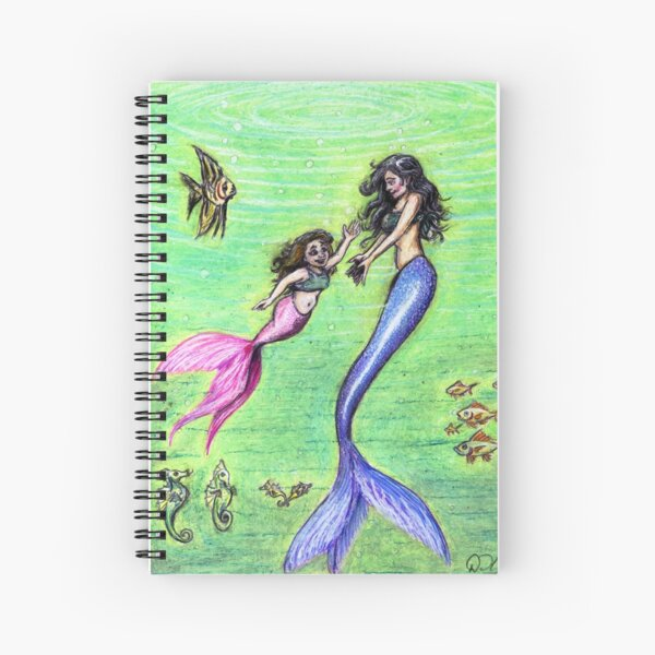 Mermommy Spiral Notebook