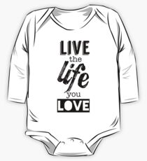 Live Life Love One Piece - Long Sleeve