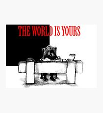 The World Is Yours Photographic Print
