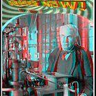 3D Anaglyph Thomas Edison by djhypnotixx