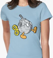 That's no Bob-omb Womens Fitted T-Shirt