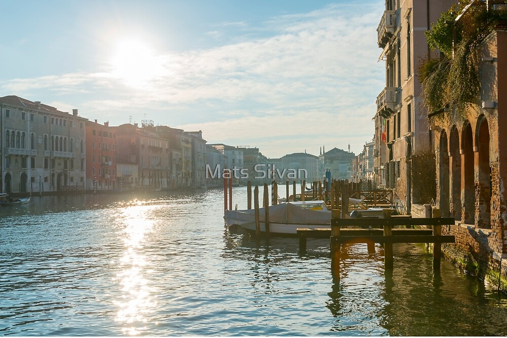 Grand canal by Mats Silvan