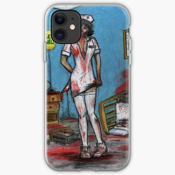 Get Well Soon - Zombie Nurse iPhone Soft Case