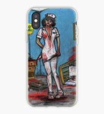 Get Well Soon - Zombie Nurse iPhone Case
