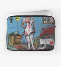 Get Well Soon - Zombie Nurse Laptop Sleeve