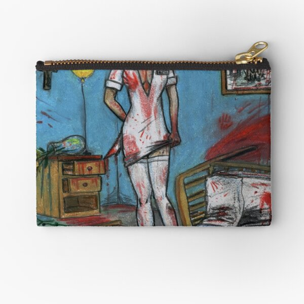 Get Well Soon - Zombie Nurse Zipper Pouch