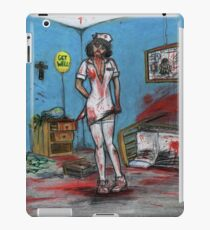 Get Well Soon - Zombie Nurse iPad Case/Skin
