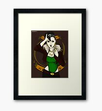 Lady Loki Framed Print