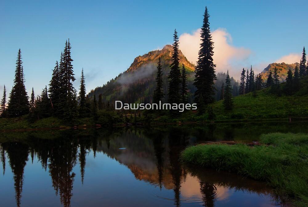 Yakima Peak Reflections by DawsonImages