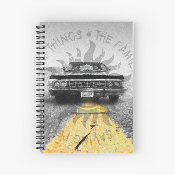 The Road So Far Spiral Notebook
