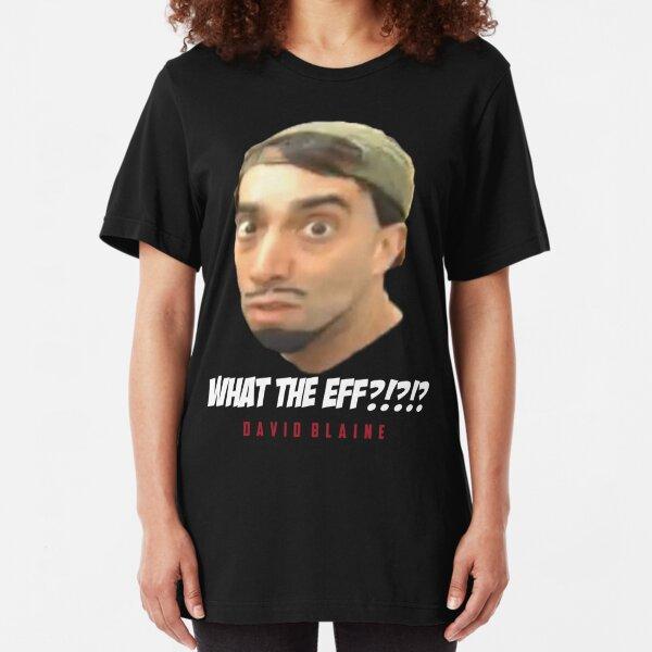 david blaine Slim Fit T-Shirt