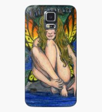 Butterfly Stone Case/Skin for Samsung Galaxy