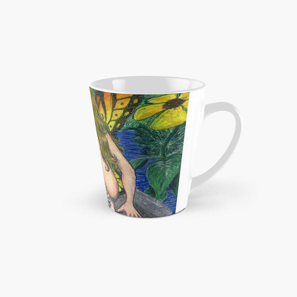 Butterfly Stone Tall Mug