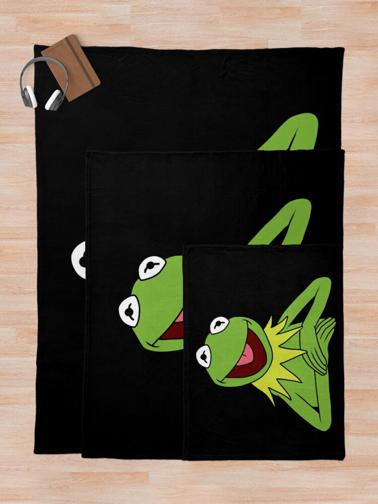 Alternate view of Kermit The Frog Throw Blanket