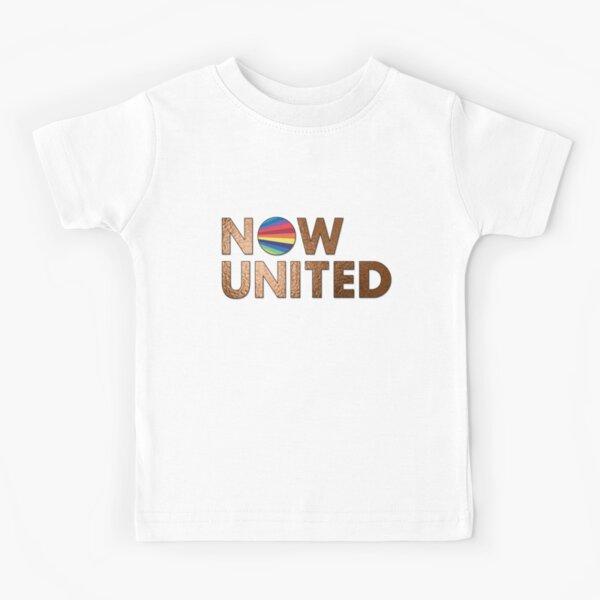 NOW UNITED - FEUILLE D'OR T-shirt enfant