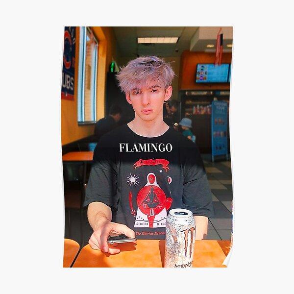 ALBERTSSTUFF FLAMINGO Poster