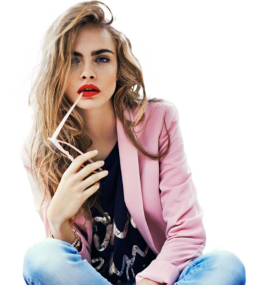 Cara Delevingne by Ravanna Lotus