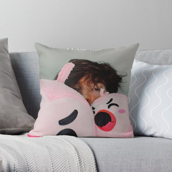 ALBERTSSTUFF FLAMINGO Throw Pillow